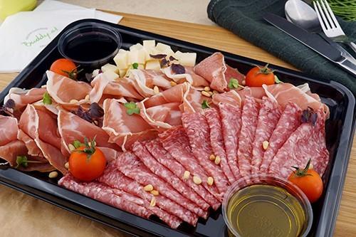 Prosciutto San Daniele & Mailänder Salami Platte