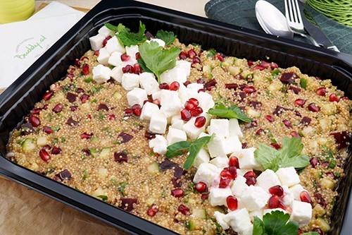Quinoa-Rote Rüben-Granatapfel & Feta Salat