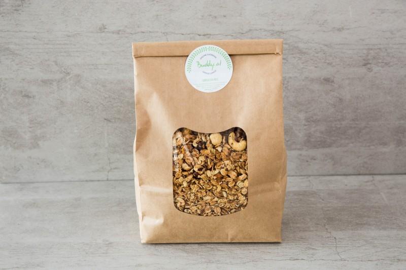 Granola Müsli Chia und Nuss