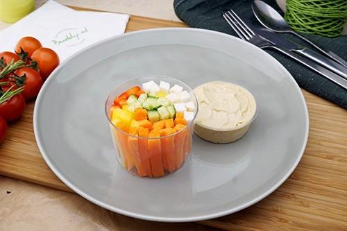 Gemüsesticks mit Hummus