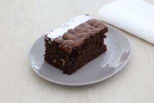 Rocky Road Schokoladen-Walnusskuchen