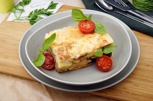 Griechisches Moussaka mit Rindfleisch & Käse