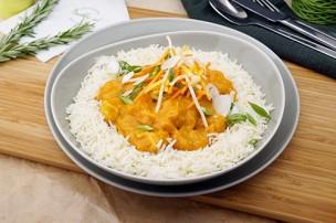 Vietnamesisches Hühner Curry mit Basmati Reis