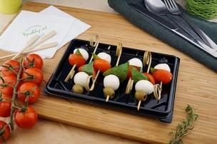 Tomaten & Mozzarella Spieße