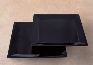 Dessertteller schwarz