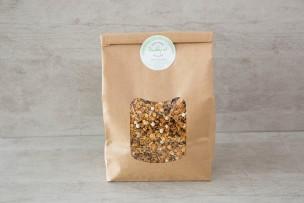 Granola Müsli Schokoperlen, Amaranth und Sonnenblumenkerne