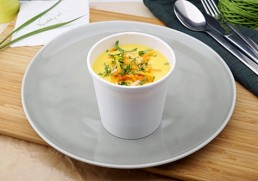 Cremige Linsensuppe