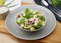 Blattsalat Sandra mit Joghurtdressing
