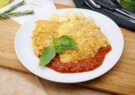 Picatta Milanese vom Schwein mit Tomatensauce & Gnocchi