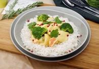 Gemüse Yang Gang Curry mit Basmatireis