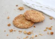 Vanille Erdnuss Cookies