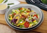 Spicy Thai Salat mit Mango & Ente