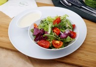 Blattsalat Dominik mit creamy Italiendressing