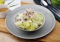 Blattsalat Boyet mit Balsamicodressing