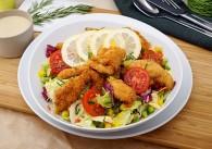 Wiener Backhendl Salat