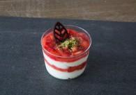 Marinierte Erdbeeren mit Schlagobers
