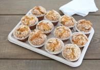 Buddys Heidelbeer-Muffins mit Zimtcrumble