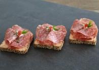 Mailänder Salami Brötchen