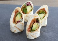 Wraps Mozzarella, Avocado & Tomate