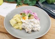 Variationen vom Heringssalat