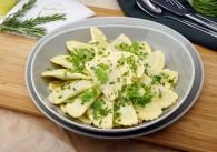 Osttiroler Schlutzkrapfen mit brauner Butter & frischen Kräutern